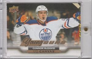 2015-16 Connor McDavid Canvas rookie hockey card