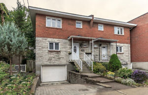 Semi Detached House in the Heart of Montreal West