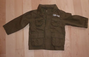Old Navy cotton spring or fall coat with hood, size 2T Kitchener / Waterloo Kitchener Area image 1