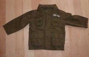 Old Navy cotton spring or fall coat with hood, size 2T