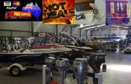 New Outboard Motors For Sale Hobart CBD Hobart City Preview