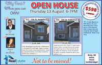 NOBLEFORD OPEN HOUSE ON AUG 13 @ 6-7PM FOLLOW THE SIGNS!!!!!!!!!