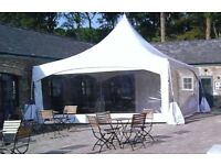 Pagoda tent marquee hire
