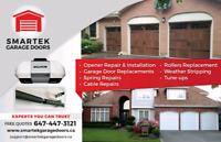 Garage Door Opener and Broken Spring Expert 647 447 3121