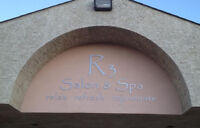 R3 Salon & Spa has rooms/chairs for rent
