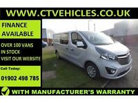 2016 66 plate Vauxhall Vivaro Sportive 1.6CDTi BiTurbo 2900 L2H1 Crew Double cab