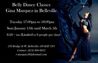 Belly dance classes in Belleville