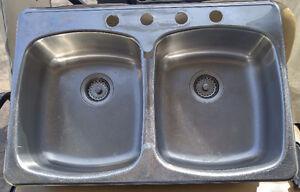 Double S S Kitchen Sink