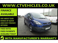 2015 65 Ford Transit Custom 2.2TDCi 290 L1H1 METALIC BLUE, LOW MILEAGE