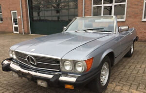 1979 Mercedes 450SL Roadster Convertible