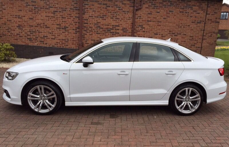 audi a3 1 4 tfsi 150ps s line 4dr s tronic 2015 glacier white in glasgow gumtree. Black Bedroom Furniture Sets. Home Design Ideas