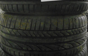 $500 TOTAL PRICE Bridgestone Potenza RE050A 225/40/18-85% TREAD(