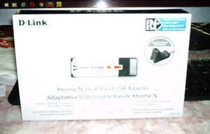 D-Link xtreme N dual usb adapter