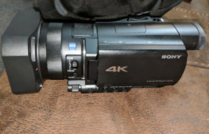 Sony FDR-AX100 4K Camcorder+Accessories $1200 obo