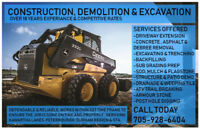 SAVE$$$ Claw-Construction DRIVEWAY EXCAVATING $$$ SAVE