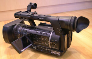 Mint condition ENG-style camcorder: Panasonic AG-AC130AP