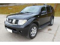 """NOW SOLD"" LHD Nissan Pathfinder 2.5dCi 174 auto SE, 4X4 DIESEL, LEFT HAND DRIVE"