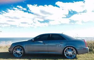 Cadillac STS Northstar, Navigation, custom exhaust rim & tire