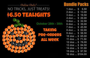 Partylite Tealights Half Price On Line Only Oct. 28-30 No Limit Prince George British Columbia image 3
