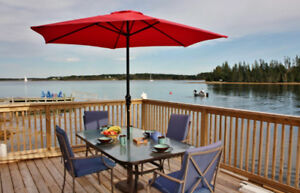 Furnished Oceanfront Cottage Near Mahone Bay