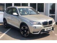 BMW X3 XDRIVE20d SE (silver) 2011
