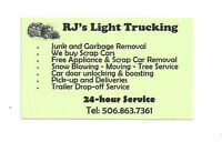24/7 JUNK&GARBAGE REMOVAL.We drop trailer you load.