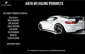 AUTO-DETAILING PRODUCTS! QUALITY PRODUCTS FOR QUALITY SERVICE!
