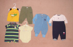 Boys Clothes, Snowsuit, Sleepers - 6, 6-9, 12, 12-18, 18 months