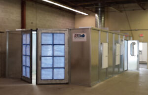 Spray Paint Booth & Air Make Up Units
