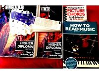 Higher Diploma for Guitar Students & extra music books
