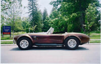 1966 FORD SC COBRA CONVERTIBLE FOR SALE!