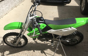 Kawasaki kx 65 Next to new condition