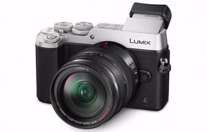 Panasonic Lumix GX8 Body with 25mm F1.7 lens and strap
