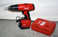 Cordless drill, Hilti, Model SF150A, 15.6 volts, 2 speed