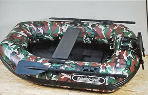 Camoflage Rubber Raft Mission-Craft