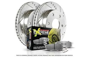 Disc Brake Pad and Rotor Kit POWER STOP K2149-26 fits 99-04 Jeep