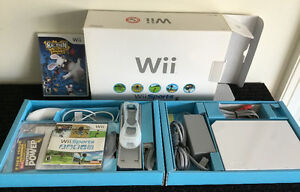 HOT DEAL! Wii Console with Wii FIT Board + Game for $100!