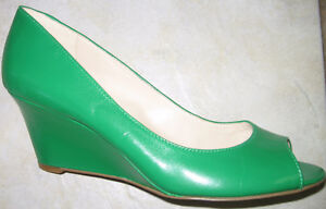 NEW NINE WEST WEDGE SHOES, SIZE 8.5