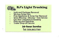 24/7 JUNK&GARBAGE REMOVAL.BEST RATES AROUND.