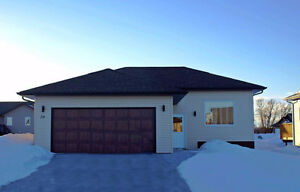 New 950 sq.ft. House with 21x21 garage.Finished basement,
