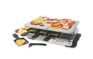 Granite Stone Raclette Grill 8-person by Swissmar