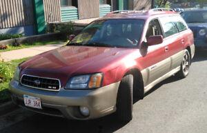 2004 Subaru Outback H6 3.0 - NEW PRICE