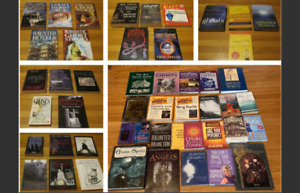 Assorted Ghosts, ghost hunting, paranormal related books