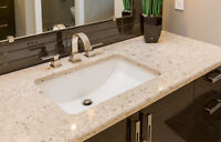 GRANITE AND QUARTZ BATHROOM VANITIES SALE