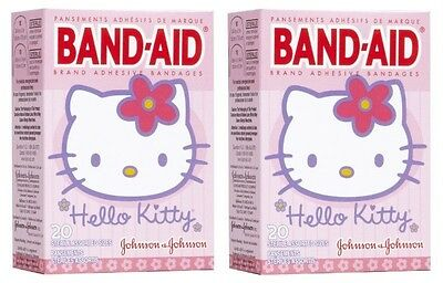 (2 Pack - BAND-AID Bandages Hello Kitty Assorted Sizes 20 Each)