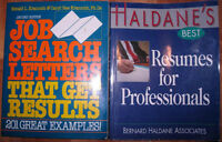 """Job search letters"" and ""Resume for professionals"" books"