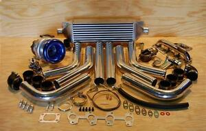 GM 2.2 Cavalier Sunfire Stainless SS T3T4 Turbo Charger Kit