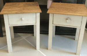 Handcrafted Coffee End Sofa Console Harvest Tables & Nightstands
