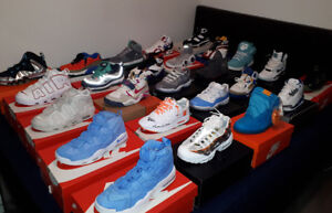 Ds Nike,jordan, throwback heat for sale or trade-Please contact