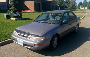 1997 Toyota Corolla DX Sedan - As is - fix up or for parts